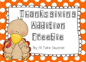 Thanksgiving Addition Freebie