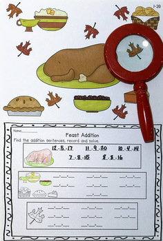 Thanksgiving Addition Search