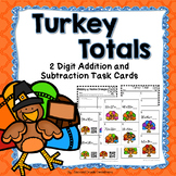 Thanksgiving Addition and Subtraction Activity