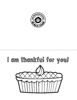 Thanksgiving Affirmation Coloring Page and Activity Bundle