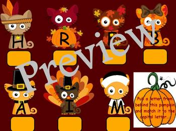 Thanksgiving AlphaCats Learning Centers