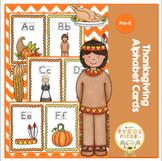 Thanksgiving Alphabet Cards