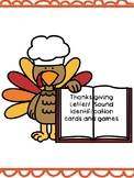 Thanksgiving Alphabet Cards and Game Board