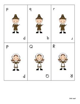 Thanksgiving Alphabet Games