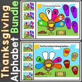Thanksgiving Alphabet Letter Recognition Letter Sounds Goo