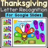 Thanksgiving Alphabet Letter Recognition Uppercase Lowerca