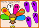 Thanksgiving Alphabet Letters Boom Cards Uppercase & Lowercase Letter Matching