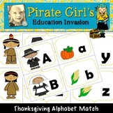 Thanksgiving Alphabet Match