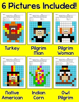 Thanksgiving Activities Alphabet Bundle: Indian Corn, Turkey, Pilgrim, Native