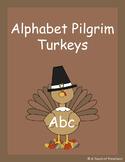 Thanksgiving Alphabet Pilgrim Turkeys