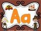 Thanksgiving Alphabet Play-Doh Mats