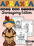 Thanksgiving Apraxia: Snip and Stick!