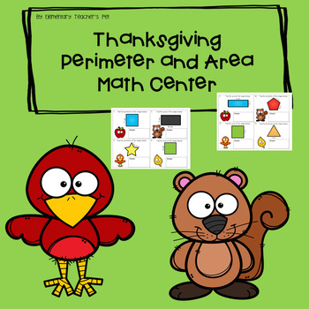 Thanksgiving Area and Perimeter Center