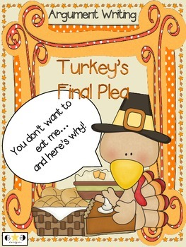 Thanksgiving Argument/Opinion Writing