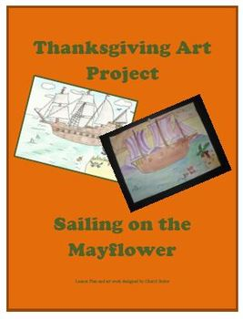 Thanksgiving Art Project-Sailing on the Mayflower