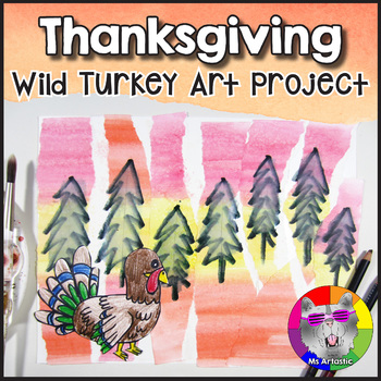 Thanksgiving Art Project, Wild Turkey