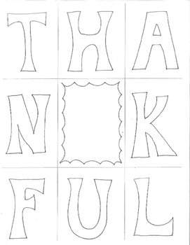Thanksgiving Art Worksheet