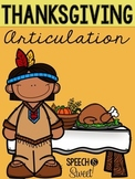 Thanksgiving Articulation