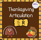 Thanksgiving Articulation R