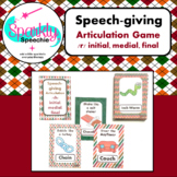 Thanksgiving Articulation R ALL Positions! Speech Therapy Act it Out Cards
