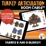 Thanksgiving Articulation R and R-blends No Prep No print Turkey Games
