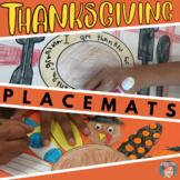 Thanksgiving Crafts: Thanksgiving Placemats