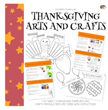 Thanksgiving Arts and Crafts