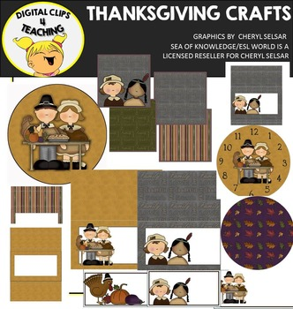 Thanksgiving Arts and Crafts Clipart