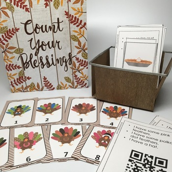 Attributes Game: Thanksgiving Compare/Contrast plus Cariboo!