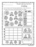 Thanksgiving - Autumn / Fall Graphing Fun Activities!