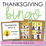 Thanksgiving BINGO! {Differentiated for k-5th Grade or Ability}