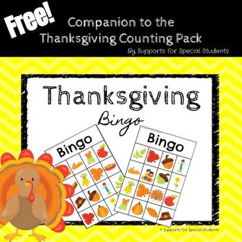 Thanksgiving BINGO