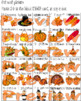 Thanksgiving BINGO * Cut & Paste * Picture Vocabulary Numbers * Class Game