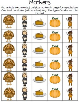 Thanksgiving History and Fun Facts Bingo