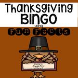 Thanksgiving BINGO using FUN FACTS {6 Bingo Card Versions}