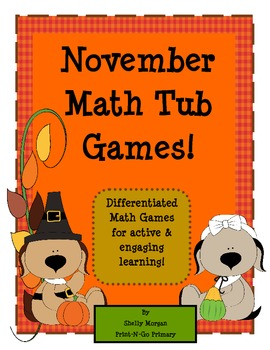 Thanksgiving BUMP and More Math Games