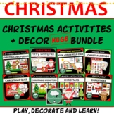 Christmas BUNDLE - Everything You Need to Play, Celebrate and Decorate!