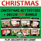 CHRISTMAS BUNDLE Everything You Need for Christmas GAMES A