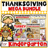 Thanksgiving BUNDLE! Printables, Turkey Craft, Books, Poems, and More!