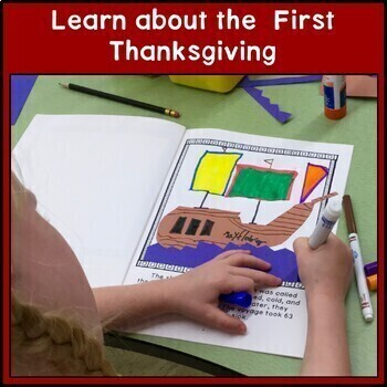 Thanksgiving BUNDLE: Reading, Writing, American History, Public Speaking, Craft