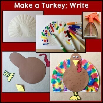 Thanksgiving BUNDLE: Reading, Writing, American History, Public Speaking, Craft