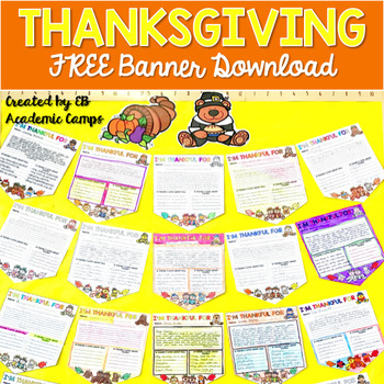 Thanksgiving Banner FREE Download