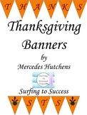 Thanksgiving Banner: FREEBIE