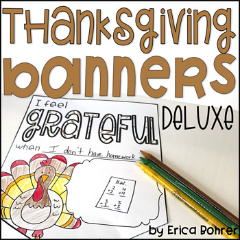 Thanksgiving Banners (Deluxe)