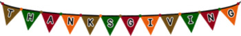 Thanksgiving Banners and Bunting FREEBIE!