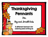 Thanksgiving Banners for Student Decoration