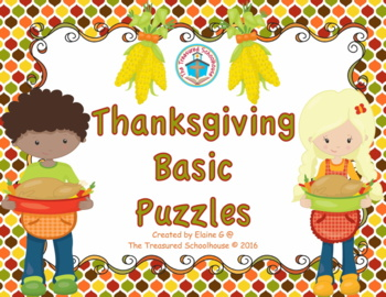 Thanksgiving Basic Puzzles
