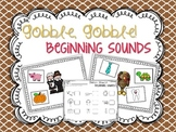 Thanksgiving Beginning Sound Sort {freebie}