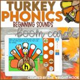 Thanksgiving Activities Beginning Sounds Practice | Digita