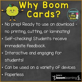 Thanksgiving Beginning Sounds, Letter Sounds Boom Cards (Digital Task Cards)